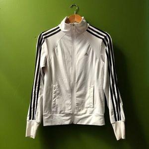Adidas Women's Clima365 Zip Up Track Jacket (S)